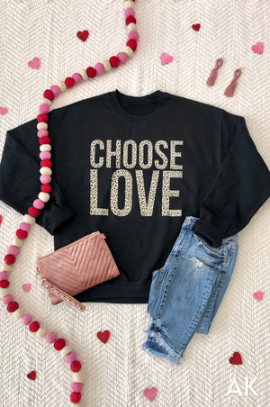 AK Tees - Choose Love Sweatshirt