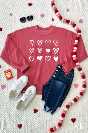 AK Tees - Full of Love Sweatshirt