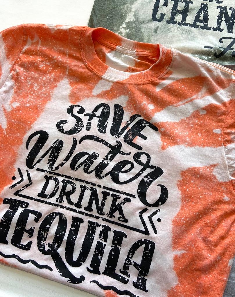 AK Tees - Save Water Drink Tequila