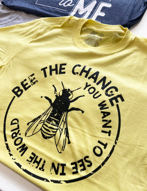 AK Tees - Bee The Change