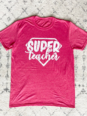 AK Tees - Super Teacher