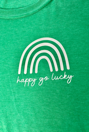 AK Tees - Happy Go Lucky Dolman Tee