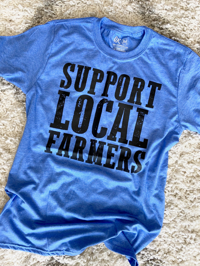 AK Tees - Support Local Farmers
