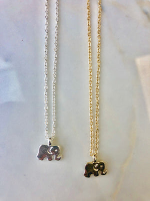 Rising Elephant Necklace
