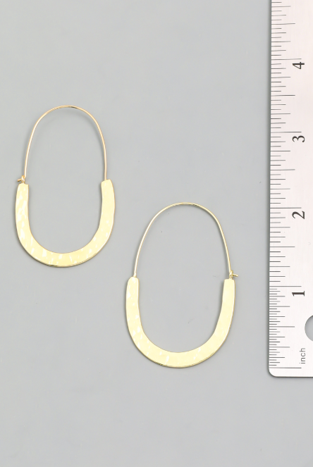 Joliet Hoop Earrings