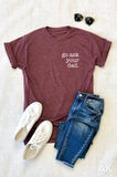 AK Tees - Go Ask Your Dad. Vintage Tee