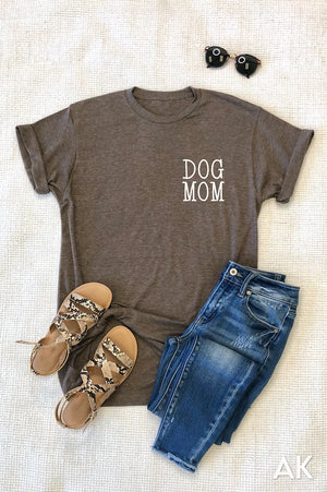 AK Tees - Dog Mom Vintage Tee