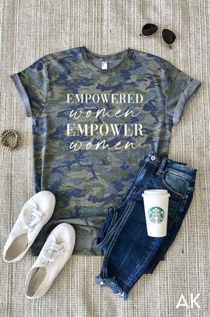 AK Tees - Empowered Women Camo