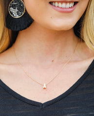 The Amelia Initial Necklace