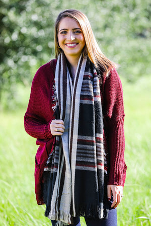 Copa Mix Stripe Long Scarf
