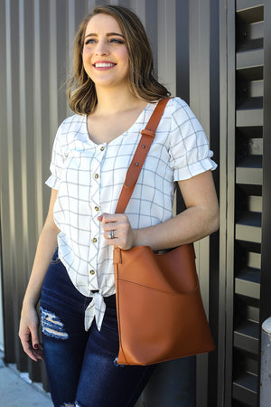 Classic Shoulder Tote Bag