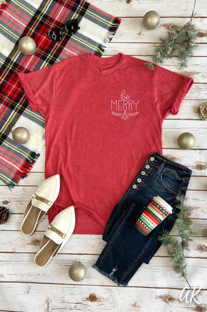 AK Tees – Be Merry Vintage Tee