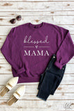 AK Tees - Blessed Mama Sweatshirt