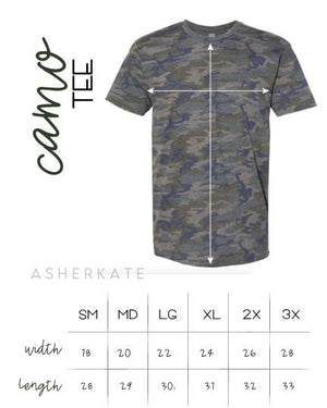 AK Tees - Top Knots & Squats Camo