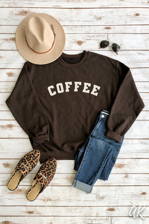 AK Tees - Coffee Sweatshirt