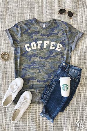 AK Tees - Coffee Camo