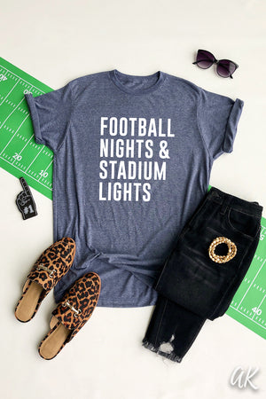 AK Tees - Football Nights & Stadium Lights