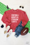 AK Tees - Football Nights Sweatshirt