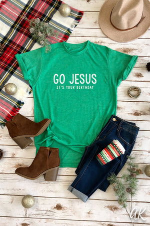 AK Tees – GO JESUS, It's Your Birthday Vintage Tee