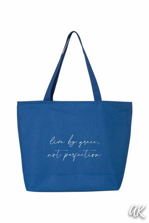 Everything Tote - Live By Grace, Not Perfection