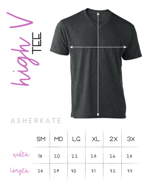 AK Tees - Heartbeat V-Neck