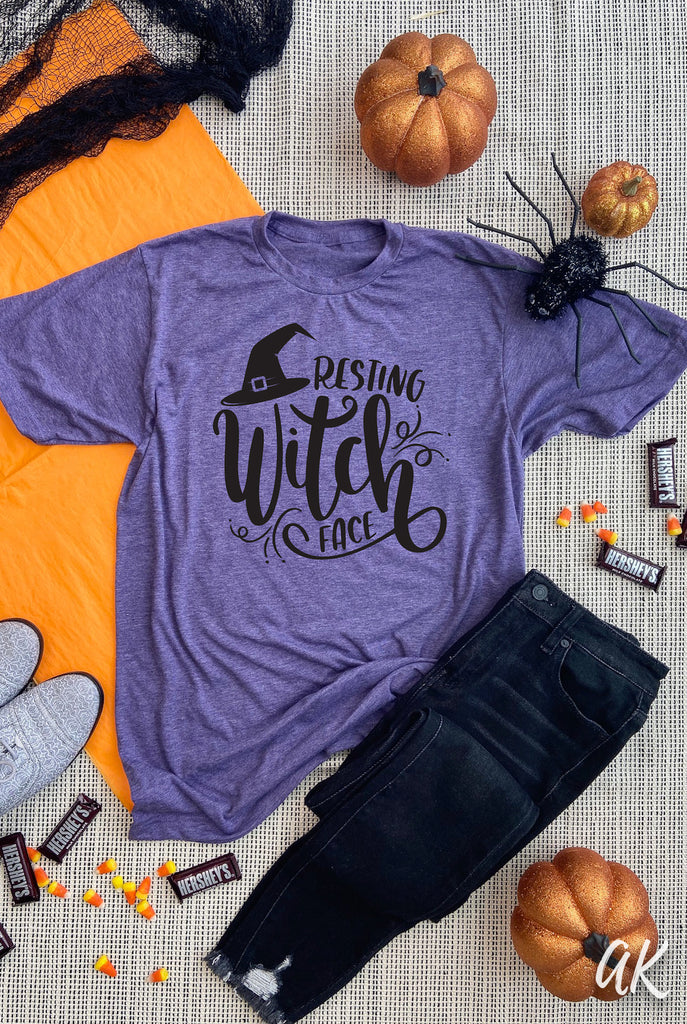 AK Tees - Resting Witch Face