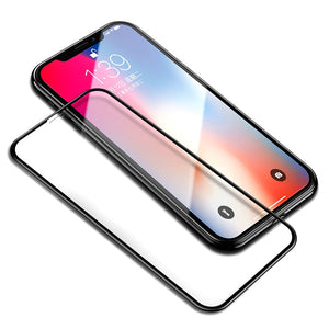 6D Fully Covered iPhone Tempered Glass Screen Protector for iPhone X 8