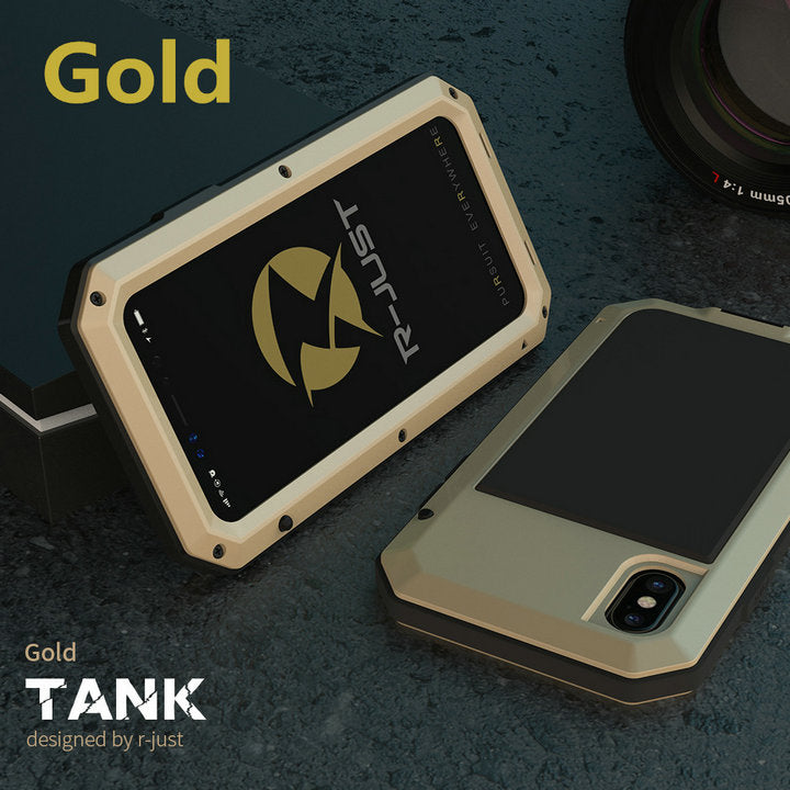 Heavy Duty Protection Metal Aluminum Case for iPhone 6 6S 7 8 Plus X 4 4S 5S SE 5C