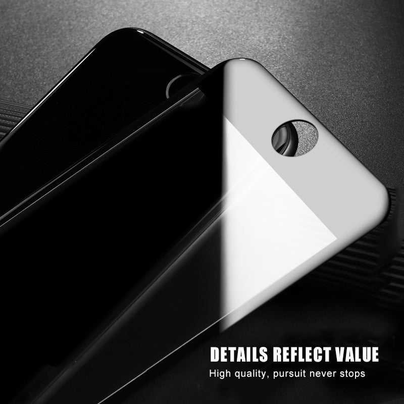 9D Anti-Scratch Protective Glass for iPhone 7 8 X Screen Protector