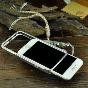 Metal bumper for iphone 6 6S Plus Aluminum bumper phone case