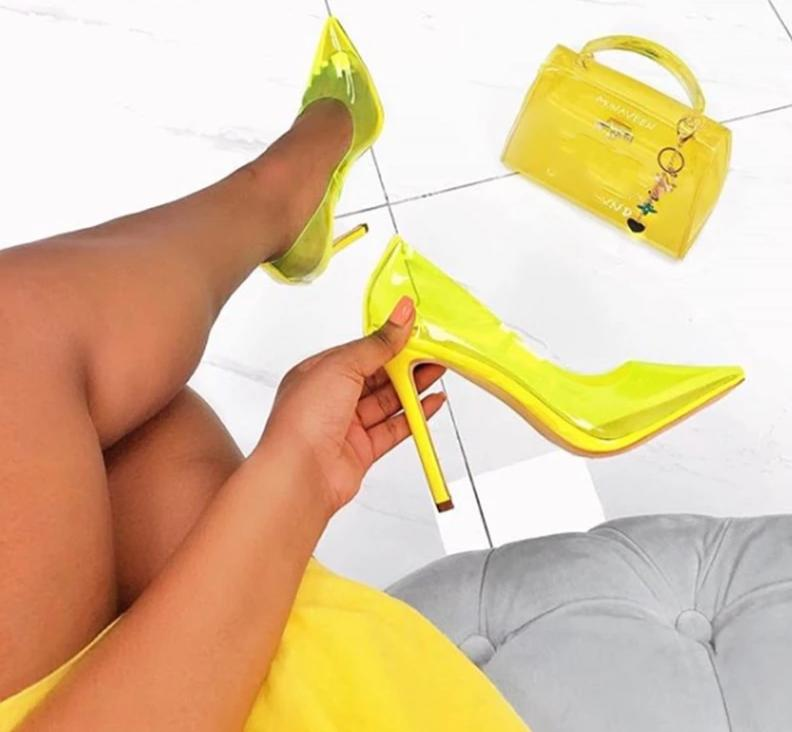 Candy Color High Heels