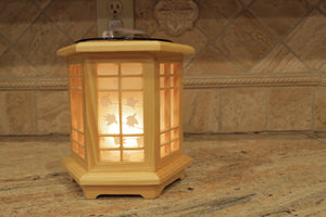 Table Top Wooden Lamps