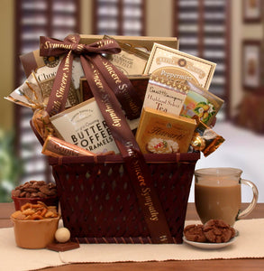sympathy gift baskets tagged funeral gift prayer list gifts