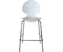 White Vogue Bar Stool