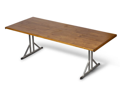 Raw Timber Dining Table