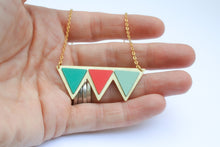 Big celebration bunting necklace- TS5
