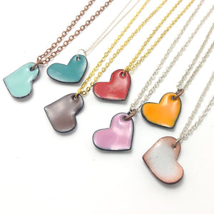 Love Wins : heart necklaces.