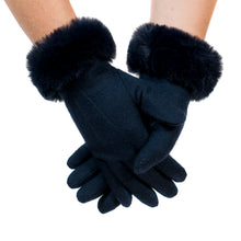 Tommy Tou Luxury Wool Gloves  Thinsulate-Lined.