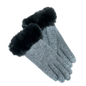 FACTORY OUTLET : Tommy Tou Wool Gloves  Thinsulate-Lined.