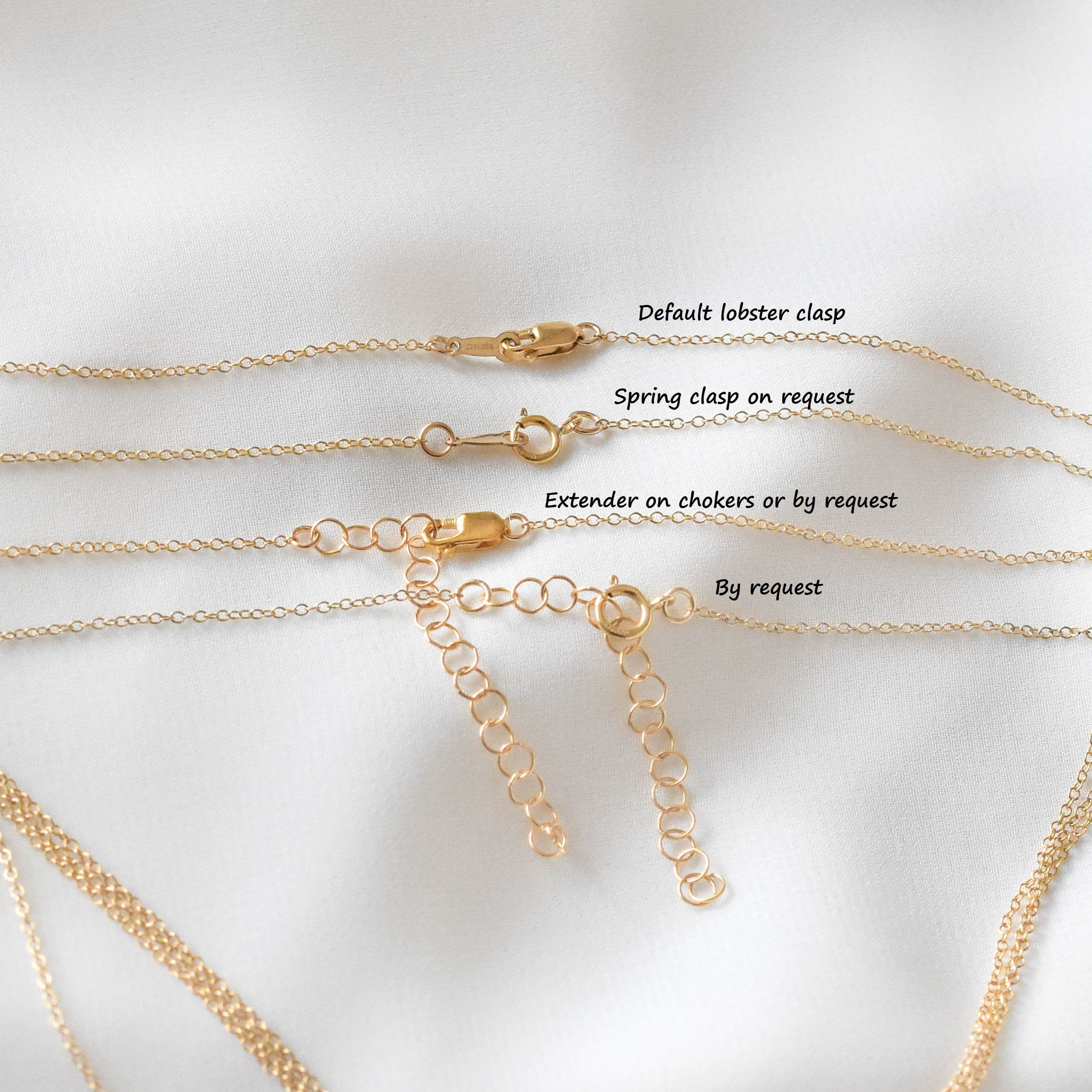 Dainty Gold Bead Necklace