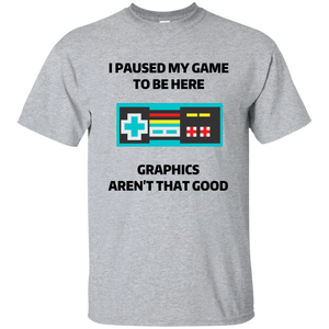 Paused Game T-Shirt