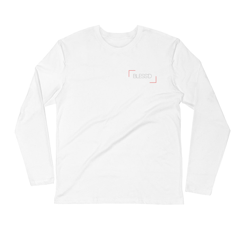 Bless'd Long Sleeve Fitted Crew