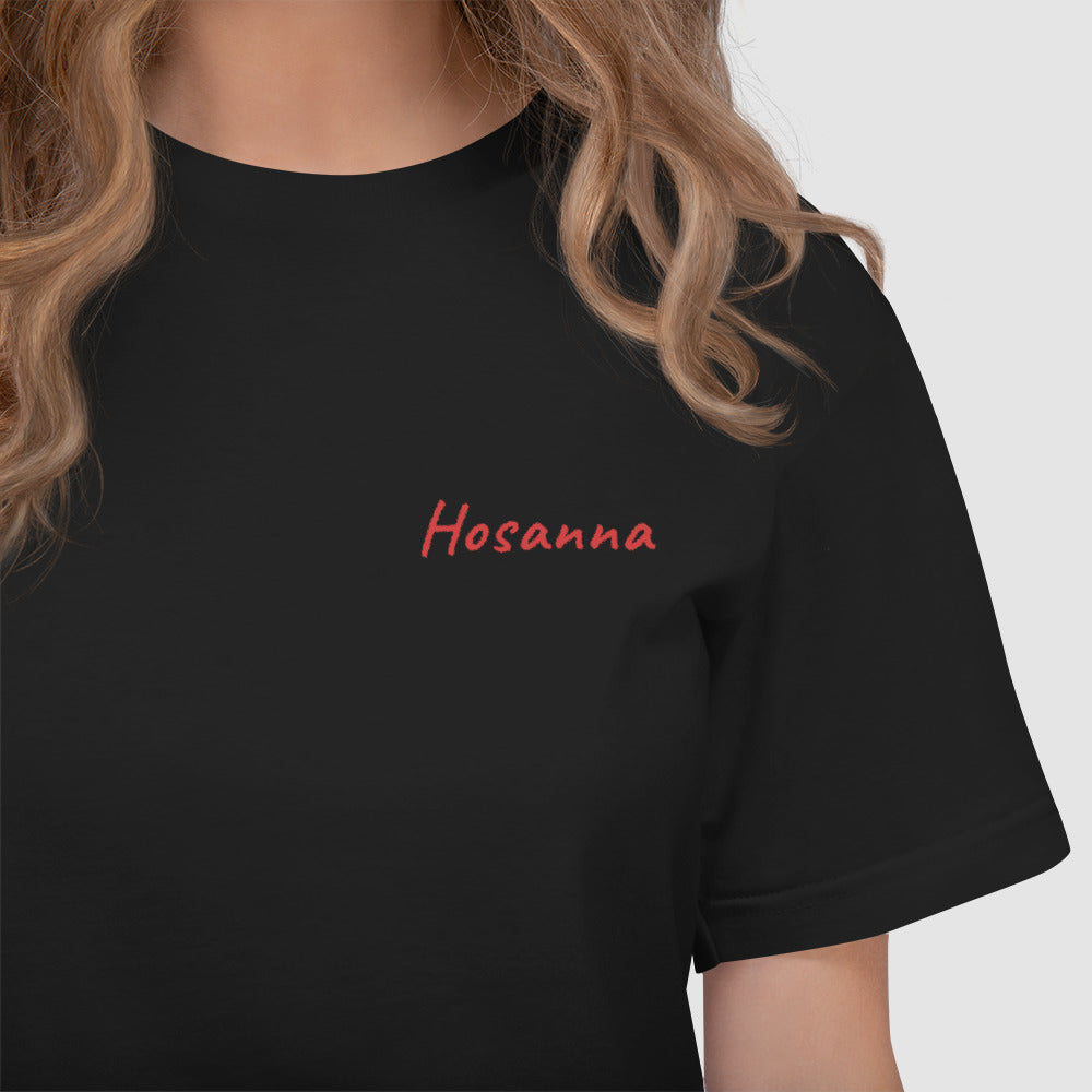 HOSANNA Embroidered T-Shirt