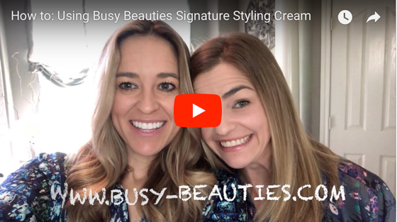 How To: Using Busy Beauties Signature Styling Cream
