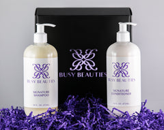 Busy Beauties - Signature Shampoo and Conditioner Now Available!