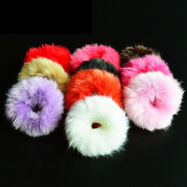 Fur Scrunchie (Scented)