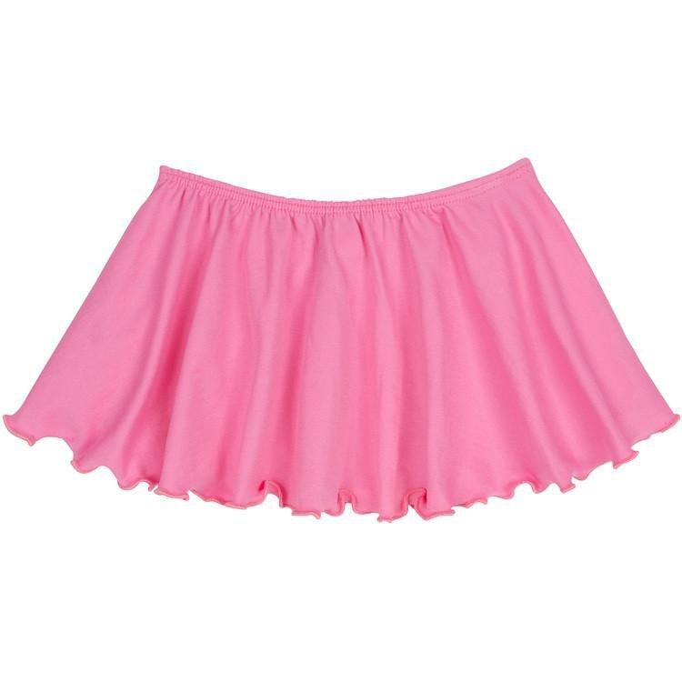 BRIGHT PINK FLUTTER DANCE SKIRT