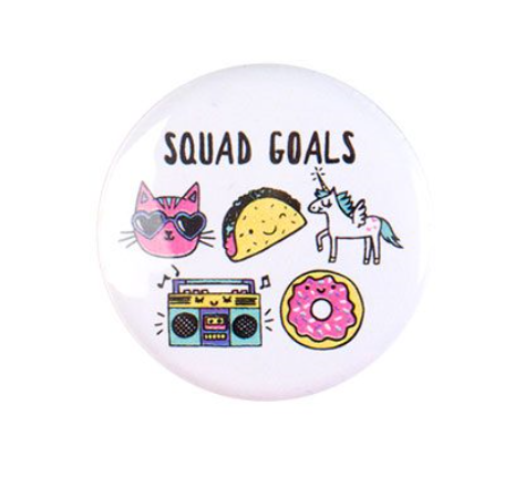 Squad Goals Button