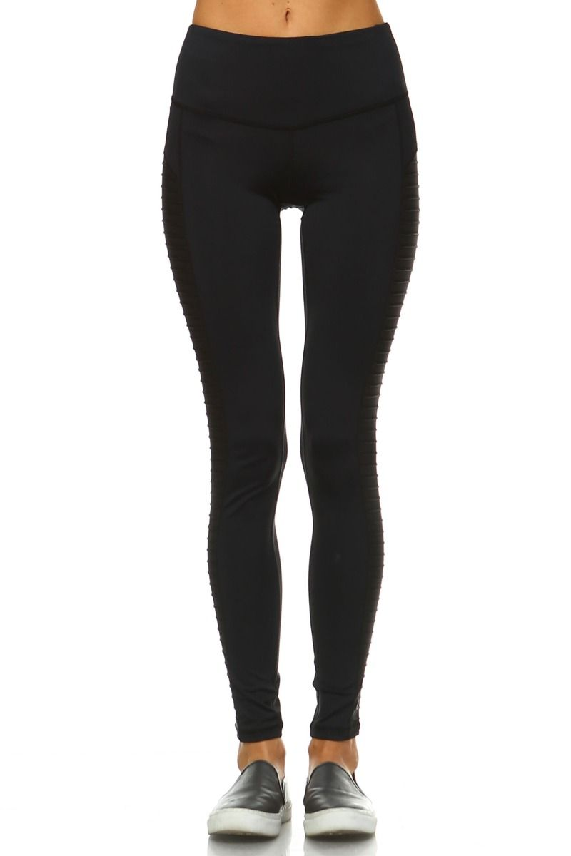 Moto Panel Full Leggings