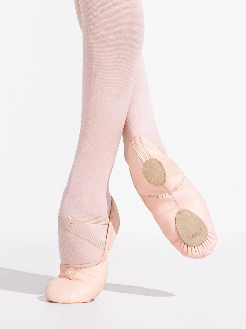 Leather Cobra Ballet Shoe